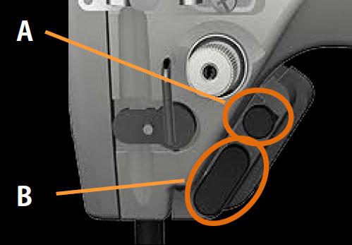 Кнопочные переключатели быстрого доступа к функциям